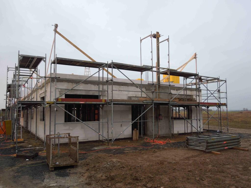 Erdgeschoss des Neubaus der MicroControl GmbH & Co. KG