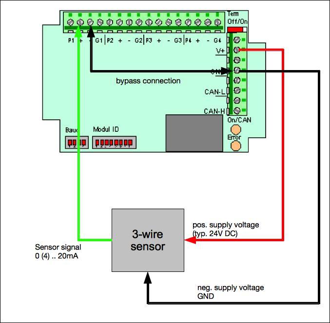 sensoren in 3 leiter oder 2 leiter technik anschliessen microcontrol blog. Black Bedroom Furniture Sets. Home Design Ideas